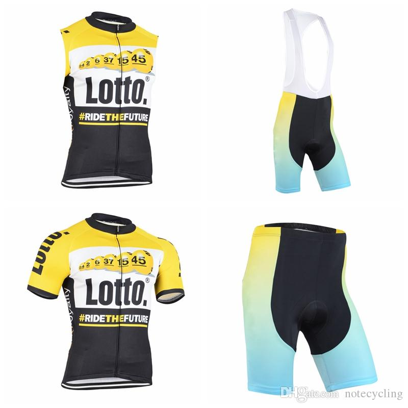 LOTTO Cycling Short Sleeves Jersey Bib Shorts Sleeveless Vest Sets 2018 New  Summer Cycling Ropa Ciclismo Fashion Quick Drying A41616 Bike Gear Giordana  From ... 514d2fe68