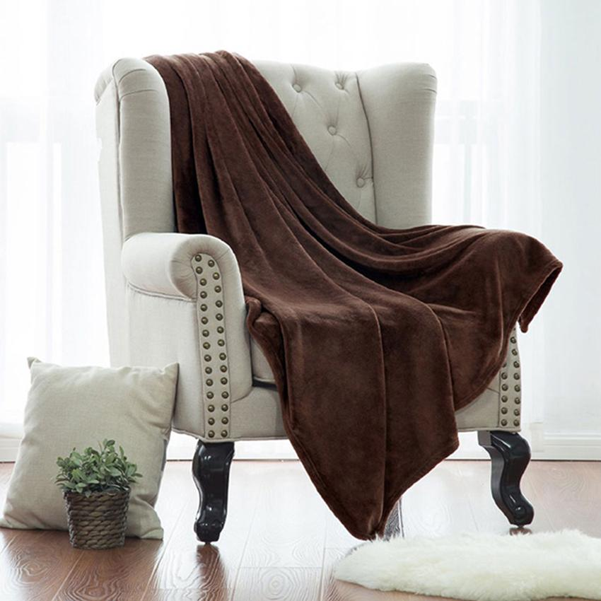 40x40cm Soft Throw Blanket Warm Coral Blankets Travel Flannel Sofa Mesmerizing Best Soft Throw Blanket