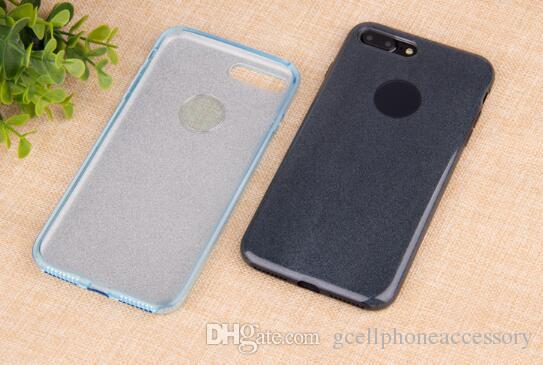 Caja del teléfono x flash de alta calidad para iphone 6s / 7/8 más cubierta protectora de tpu tres en uno
