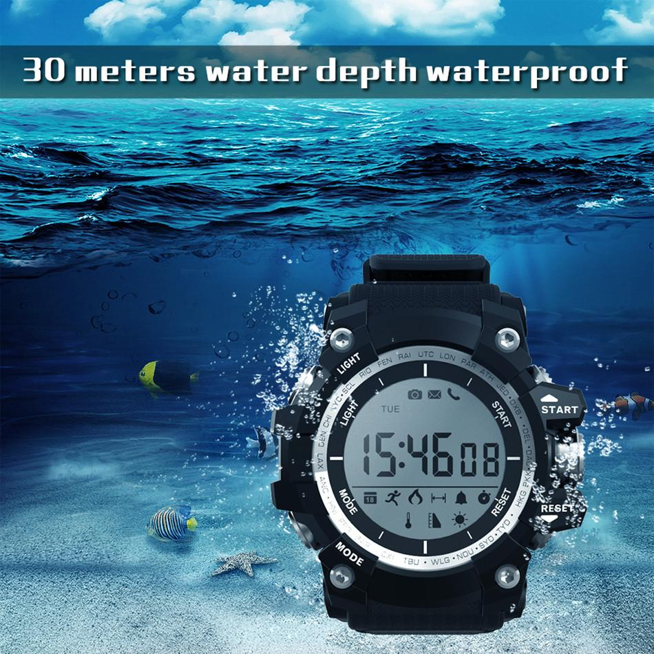 Professional Sport Smart Watch XR05 30 Meter Waterproof Outdoor Altitude Air Pressure Temperature Incoming Call Remind Bluetooth 4.0 Watch
