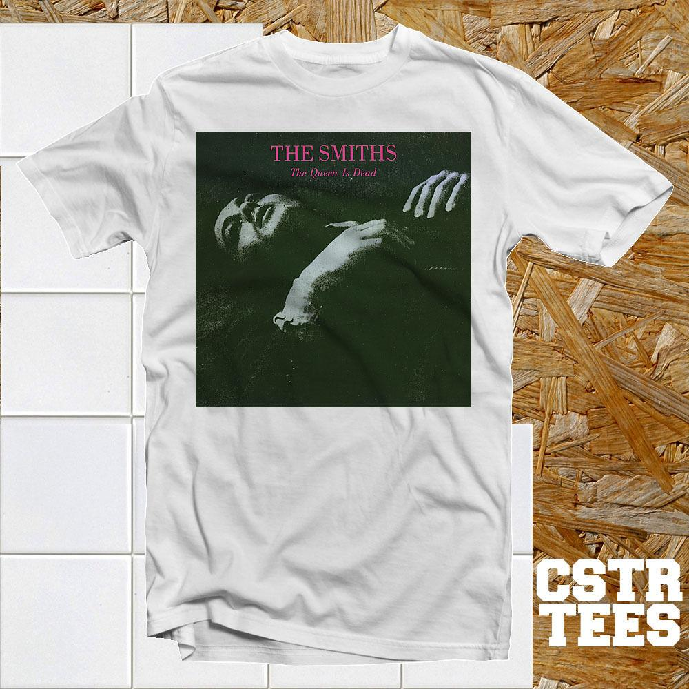 da7ec5dd The Smiths The Queen is Dead Album Cover T Shirt Cool Retro 80's ...
