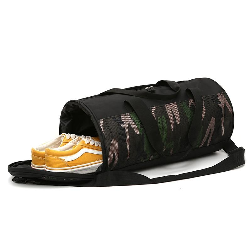 124680c6ef96 Multifunction Camouflage Sports Gym Bags Fitness Training Yoga Bags With  Shoes Storage Packet Net Bag Sac De Sport UK 2019 From Monida