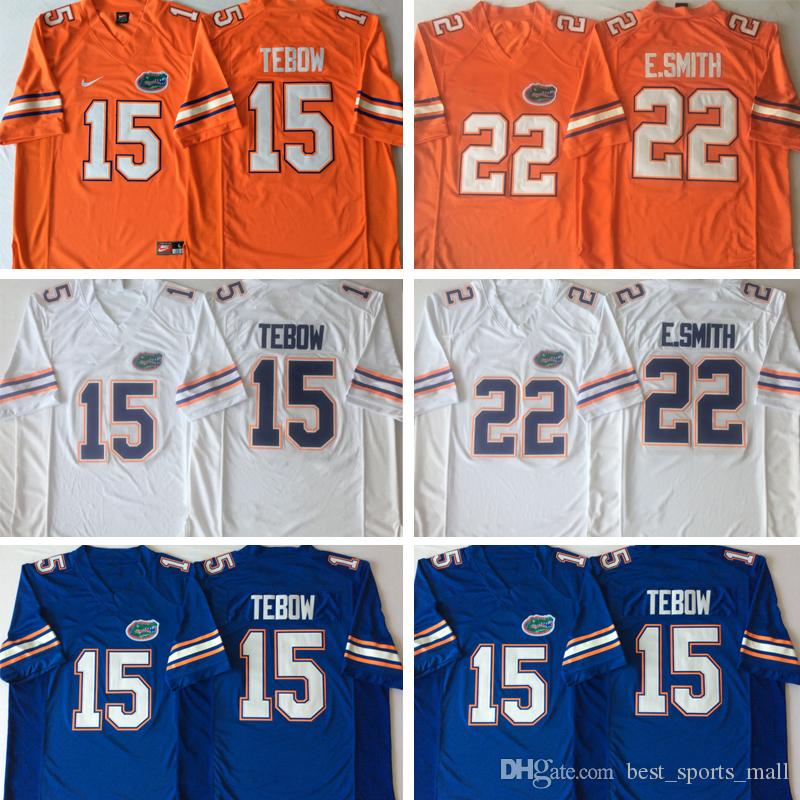 half off d3720 1e689 Cheap Florida Gators Jerseys #6 Jeff Driskel #15 Tim Tebow #22 Emmitt Smith  College Jersey Home Away Orange Blue Navy White Stitched Jersey