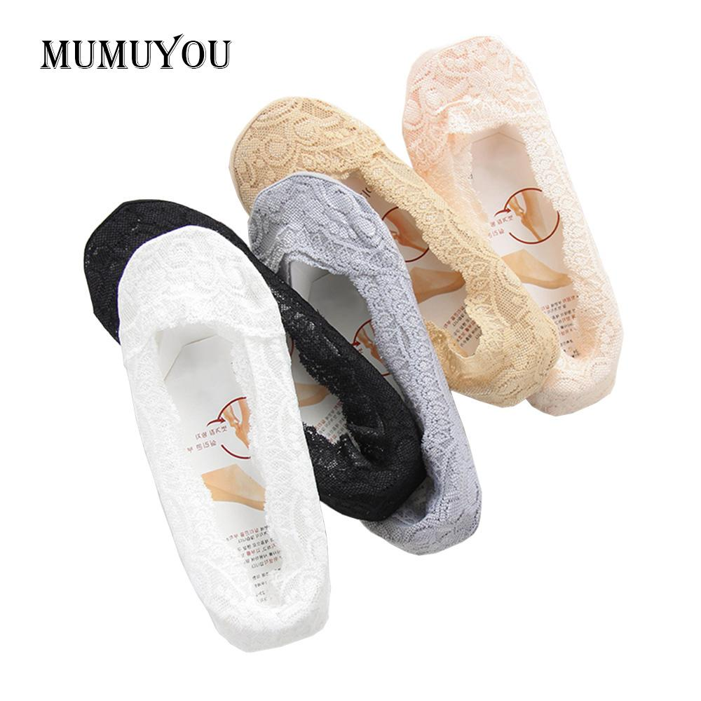 3455701235c7b 2019 Women Fashion Low Cut Lace Slippers Socks Ladies Girls Shoe Liners  Footsie Invisible Skin Thin Casual Footwear 043 779 From Vanilla04, $40.02  | DHgate.