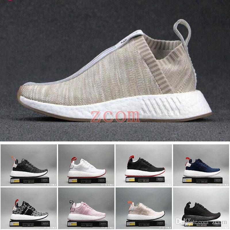a8fd1358bf08 2018 NMD R2 Naked X Kith Brand Consortium CS2 Primeknit Women Men Running  Shoes Designer Nmds Runner City Sock Pink Girl Sneakers Men Sports Shoes  Shoe ...