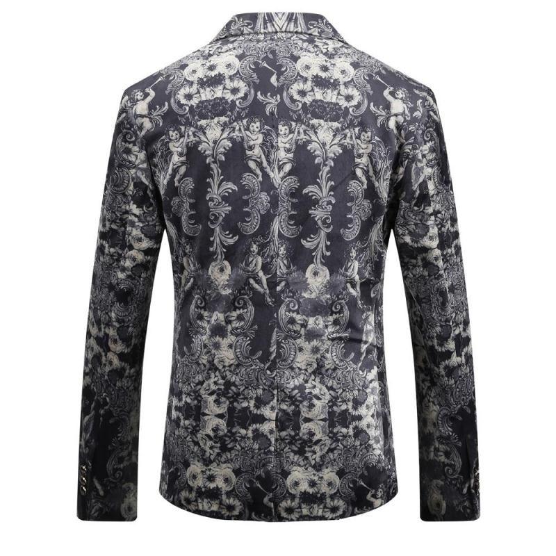 Blazer Blazer Casual Dos Homens de Alta Qualidade Masculino Blazer 2017 Outono New Arrival Moda Slim Fit Homens Terno Tamanho Asiático dos homens