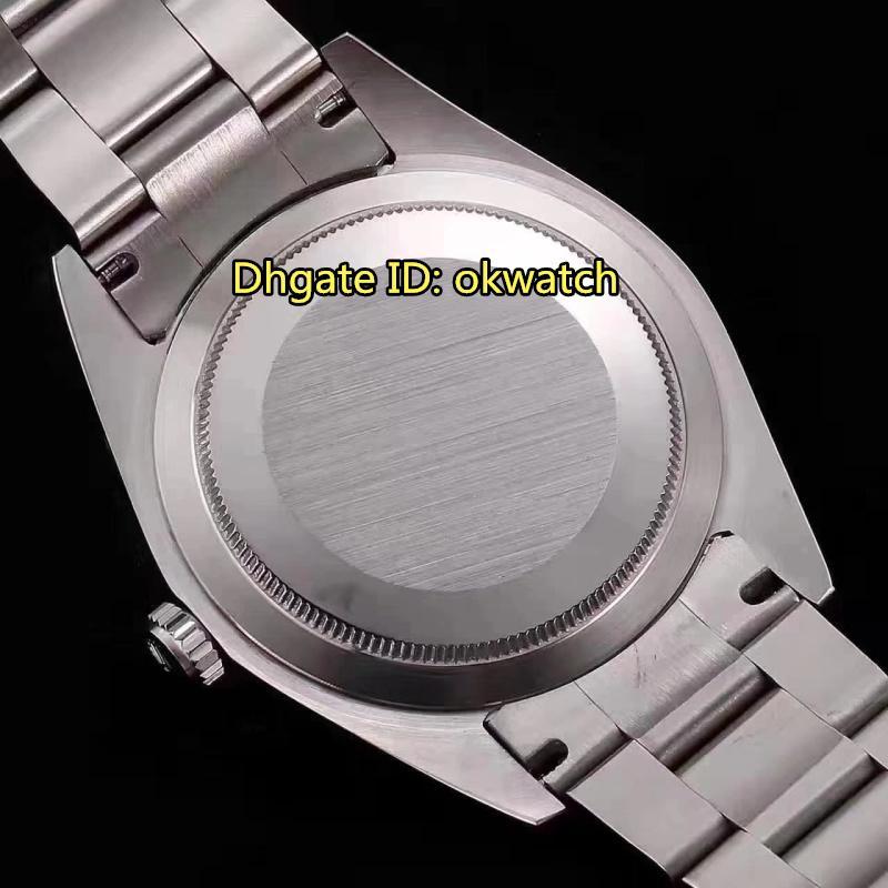 5 style Watch 39MM Japan Miyota 8215 Automatic Herrenuhr 114300 Sapphire Grey Dial Edelstahl Armband Herrenuhren