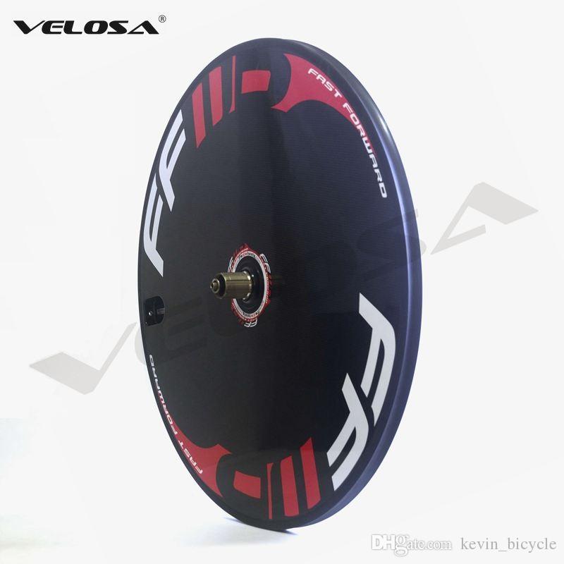 FFWD carbon bike disc wheel,clincher/tubular disc wheels for Track bike/Triathlon bike/ Time Trial bike carbon disc wheel