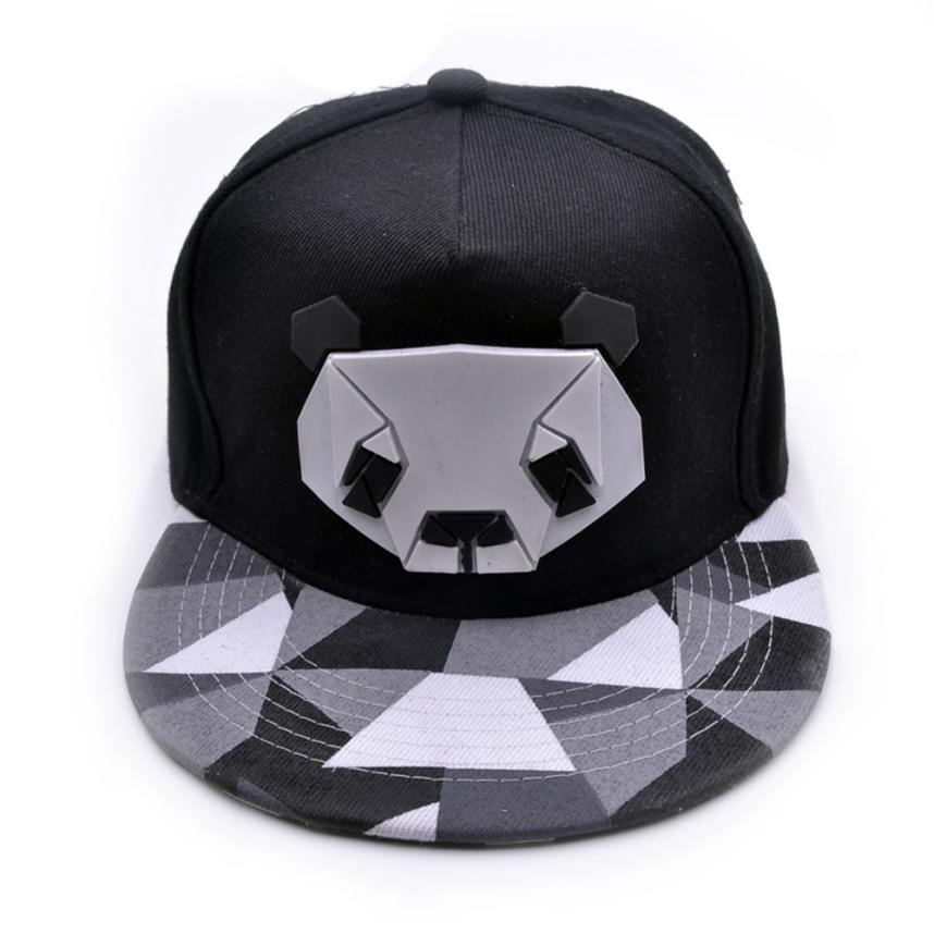 Compre 2017 Hombres Y Mujeres Deportes Gorras De Béisbol Sombrero De  Algodón Ocasional Animal Panda Cap Panda De Algodón Ocasional Gorras De Béisbol  Para ... d9d1accd7fa