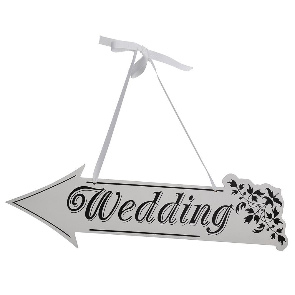 Satın Al Ok Işareti Düğün Töreni Resepsiyon Dekor Ok şekilli Asılı