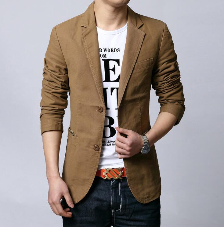 bb98903ba8e 2019 Spring And Autumn Black Khaki New Men  S Suits Young Fashion Casual  Mens Small Suit Large Size Male Jacket Plus Size L 6XL From Lucu