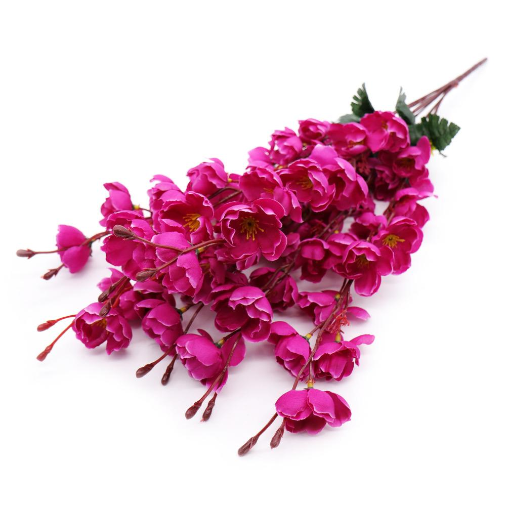 2018 7 Headsartificial Flowers Cherry Blossoms Plum Flower Wedding