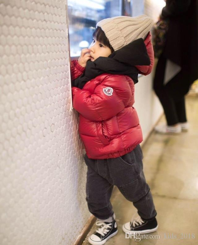 1d6b76638586 New Arrival Luxury Brand Boys Winter Down Jacket For Girls White ...