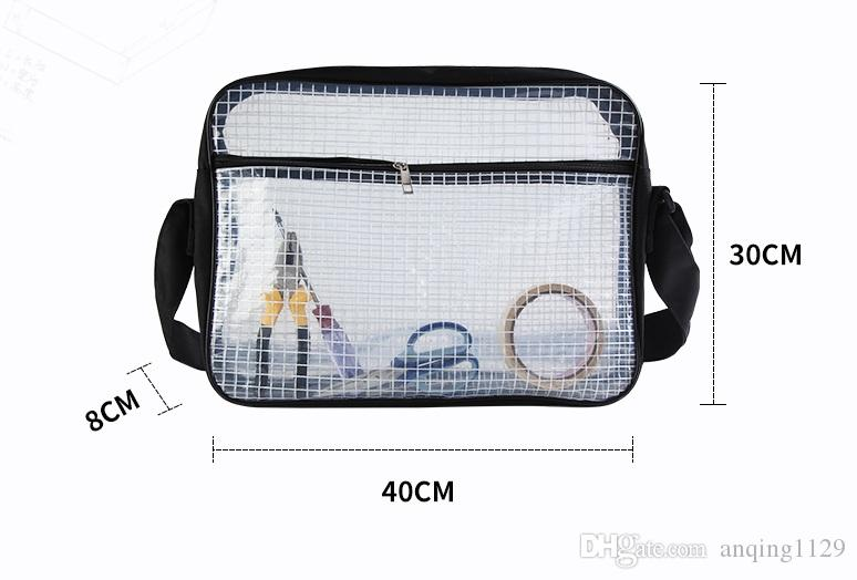 9336cb64add8 2019 Clear Pvc Computer Bag 40cm 30cm 8cm Anti Static Electricity ...