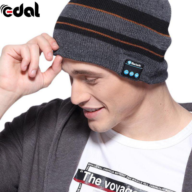 6de75e005bb 20 20KHZ Fashion USB Smart Bluetooth 4.1 Wireless Music Cap Headphone  Headset Speaker Magic 3.7V Hat Sports Headphones Tv Headphones From Albar