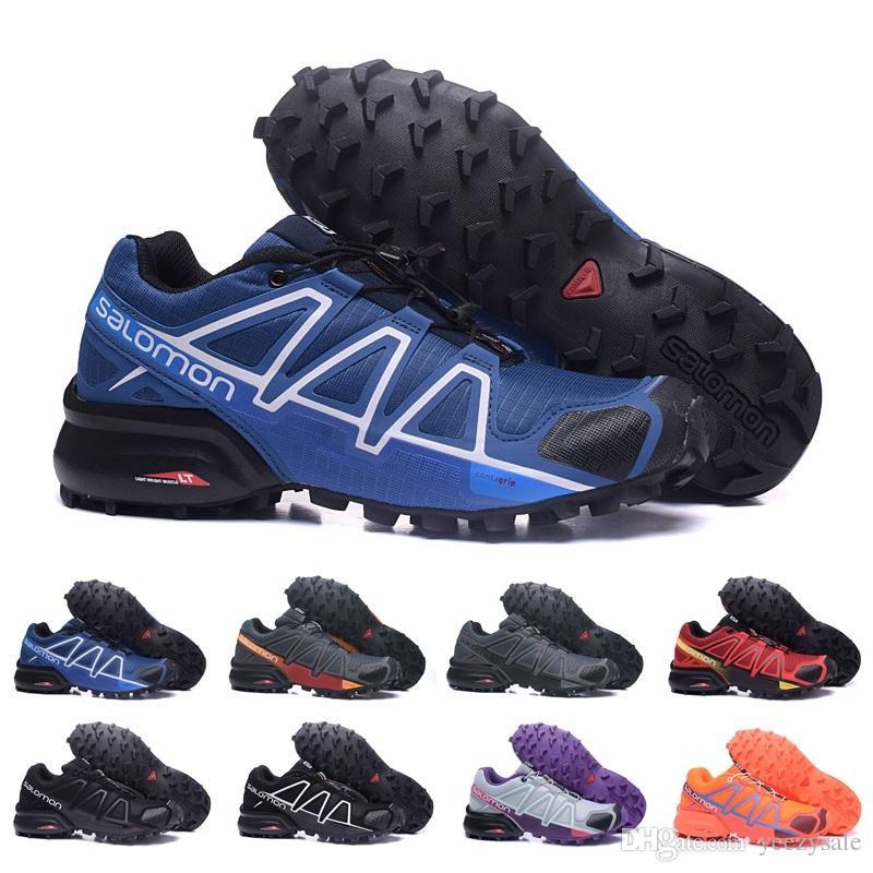 f983c5e14d 2018 Salomon Speedcross 4 Trail Runner Migliori scarpe sportive da uomo di  sconto di qualità degli uomini di moda scarpe da tennis all aperto ...