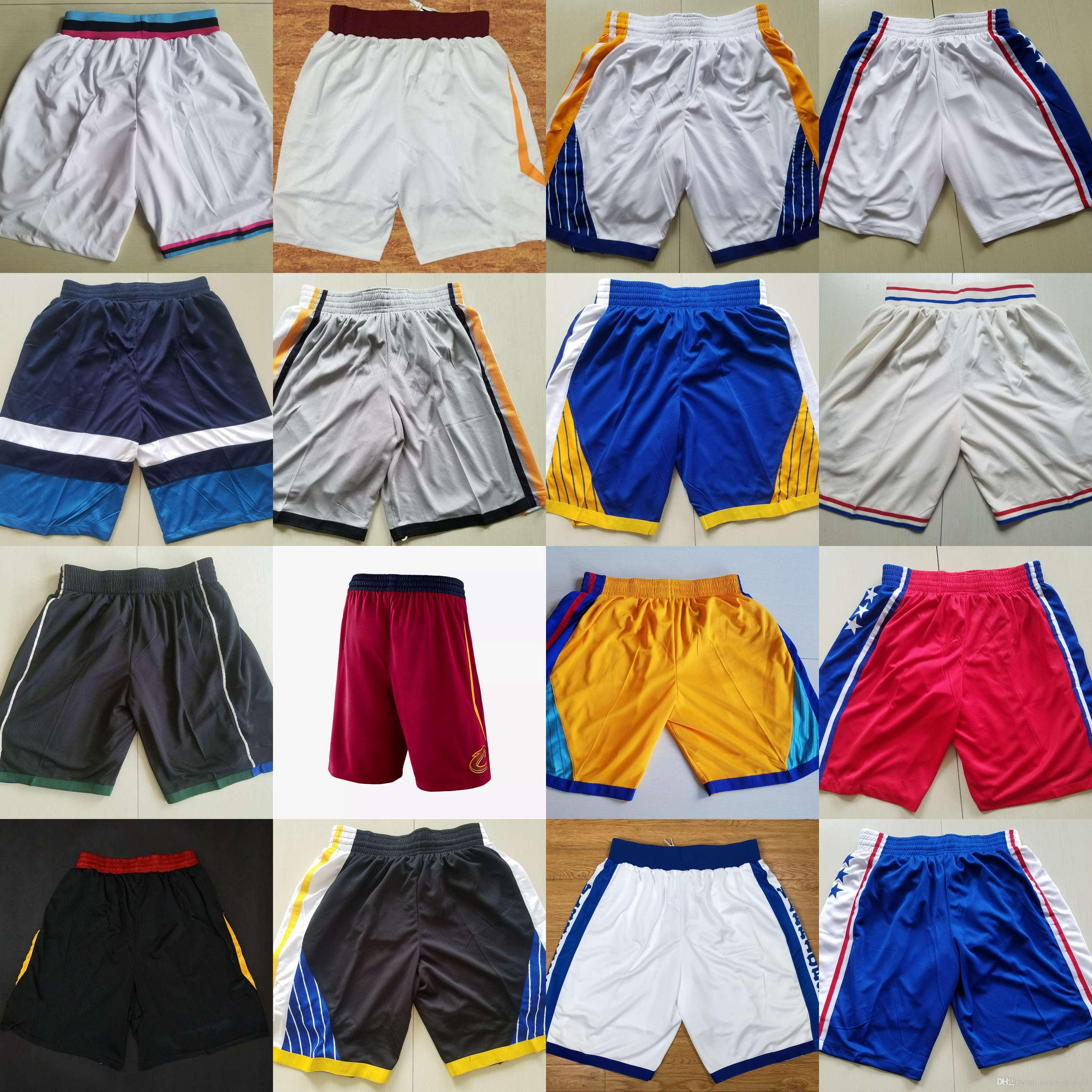 Men S Shorts Basketball Shorts New Breathable Sweatpants Teams Classic  Sportswear Wear Embroidered Logos Cheap Sports Shirts UK 2019 From Jersey  Shop 23 48b8b074c