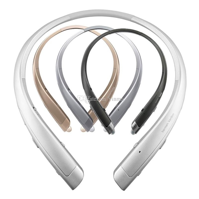 df8484d68f9 HBS 1100 Wireless Bluetooth Stereo Headset Harman Kardon Hi Fi Platinum  Earphones For LG Tone Platinum HBS 1100 Dual MEMS Mic Headphones Headsets  For Phones ...