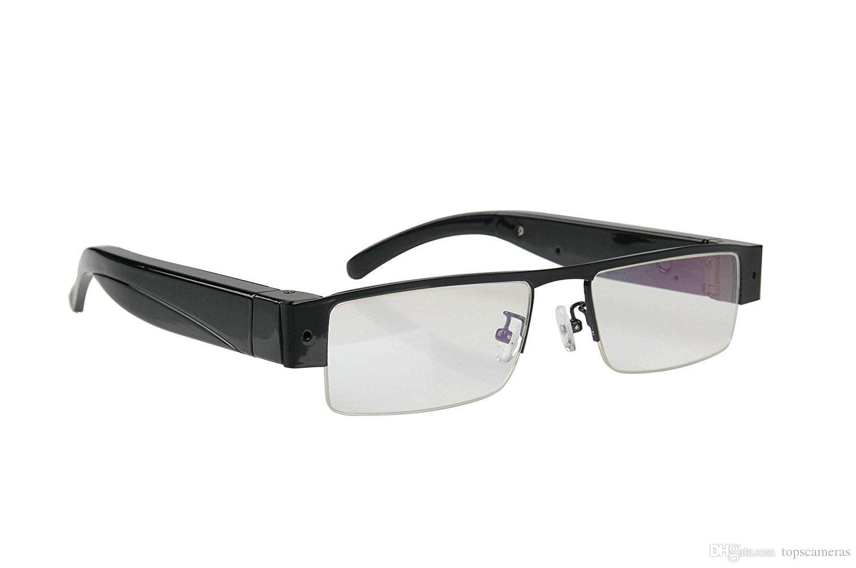 Livraison gratuite 1080p HD sans fil wifi lunettes lunettes lunettes de soleil caméra de surveillance à distance prend en charge android et iphone APP