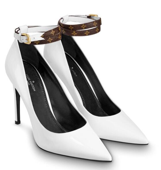 79acbaf0f9921e 1A4DH1 CALL BACK PUMP LADY NEW WHITE FASHION Women High Heels Lolita ...