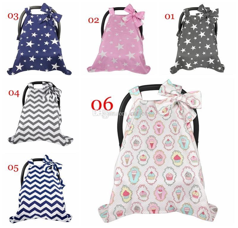 2019 100 Cotton Baby Car Seat Canopy Infant Car Seat Canopy Cover