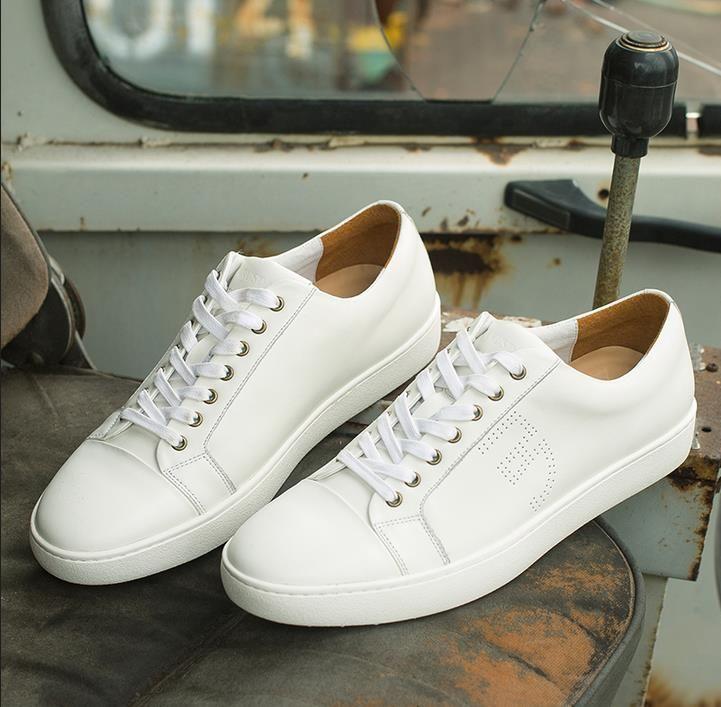 Acheter Chaude Petit Sport Blanc Hommes Chaussures 76w8q7T
