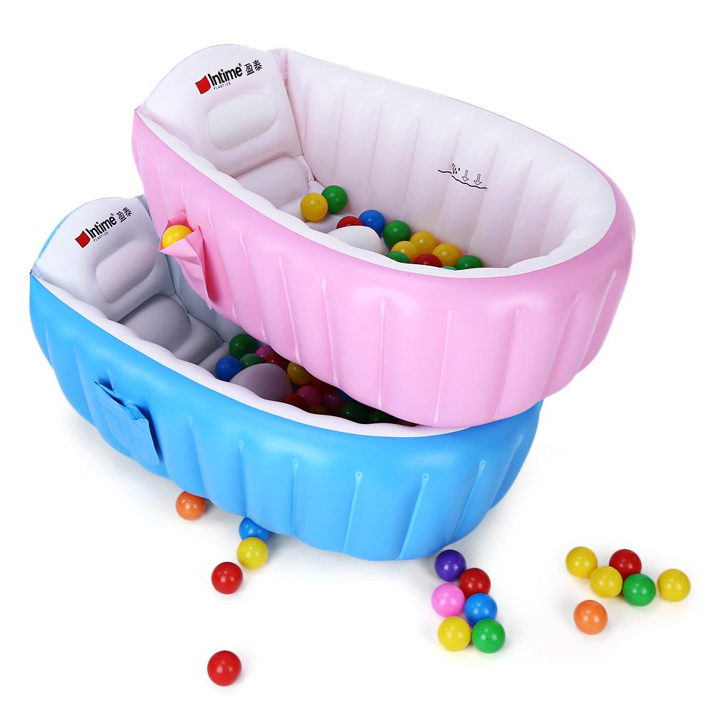 2018 Newborn Baby Large Inflatable Bathtub For Babies Bath Infant ...