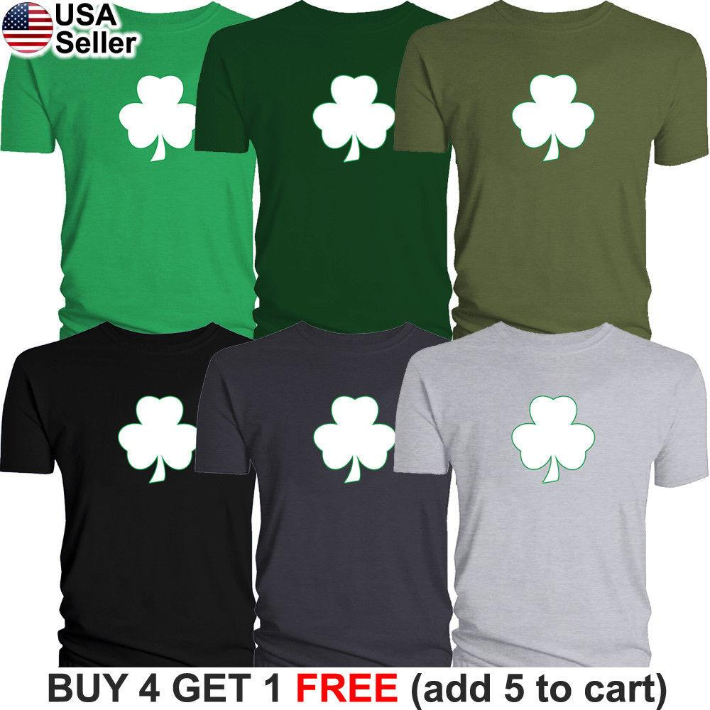 495f9865bc7 Details Zu Shamrock Clover St Patrick S Day T Shirt Irish Paddy S Funny Bar  Party Drinking Funny Unisex Casual Gift T Shirt Sayings Retro T Shirt From  ...