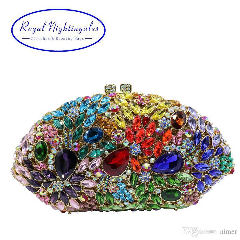 Luxury Diamond Crystal Clutch for Wedding Bridal Evening Party Crystal  Clutch Clutch for Wedding Crystal Clutch Diamond Clutch Online with   94.42 Piece on ... 5c96b5efa0d4