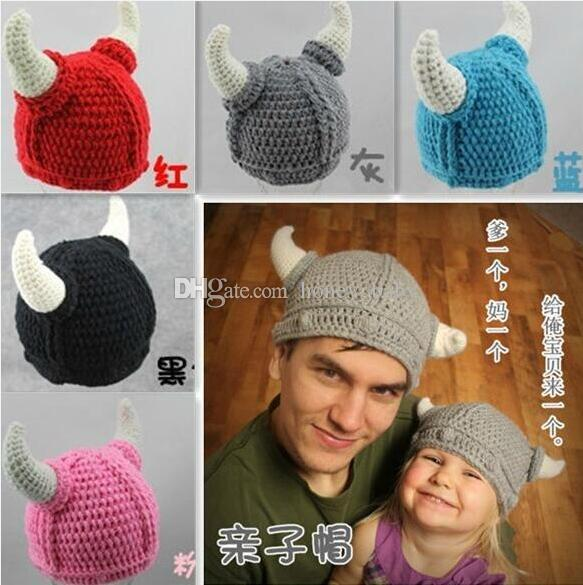 a06ed5e5370 Winter Newborn Christmas Knitted Hat Baby Boys Girls Kids Infant ...