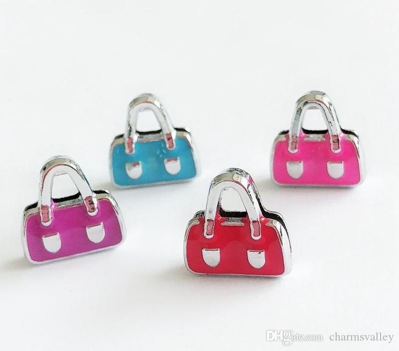 8mm esmalte saco de slides encantos de slides fit diy 8mm pulseiras pulseiras, Pet Coller Cinto Correias