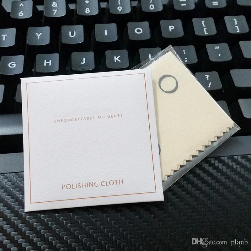 Großhandel Hohe Qualität Poliertuch für Pandora Silber Schmuck Charms Armband Frauen Kette Halskette Poliertuch