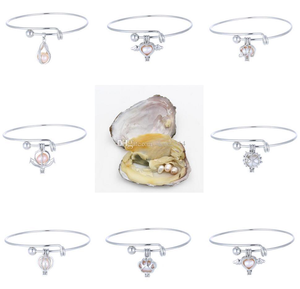Eau D De Noël Perles Éléphant Charme Creux Douce Coeur Diy Cadeau Ange Cages Love Médaillon Bracelets Bijoux Wish Bracelet zSqMVGLUp