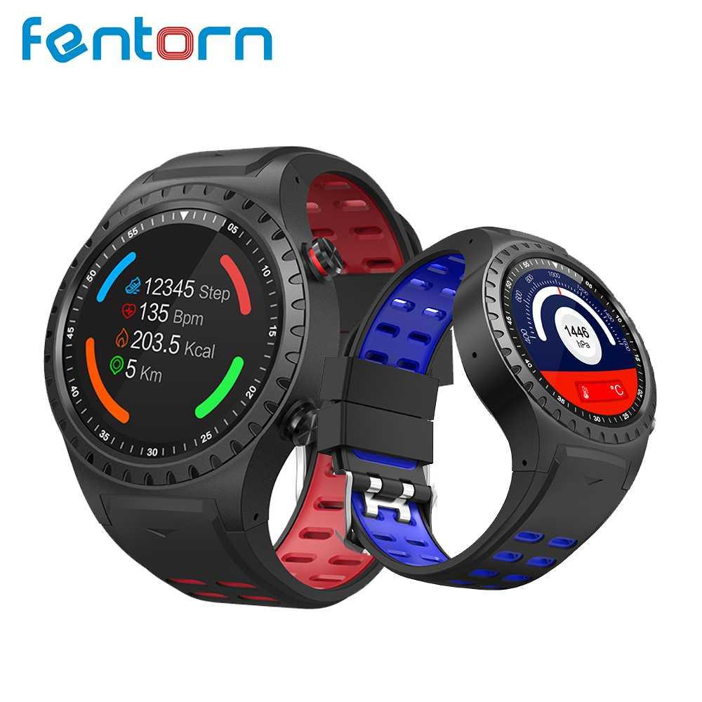 0f41e1070af1 Relojes Celulares Fentorn M1 Smart Watch Europa Versión GPS Smartwatch  Monitor De Frecuencia Cardíaca Smartwatch Soporte Impermeable Llamada  Telefónica ...