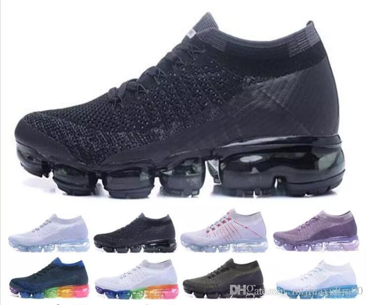 2018 high quality Vapormax Casual Shoes For Mens Sneakers Women Fashion Athletic Sport Shoe Hot Corss Hiking Jogging Walking Outdoor Shoe sale cheap prices sale best seller r0B1e
