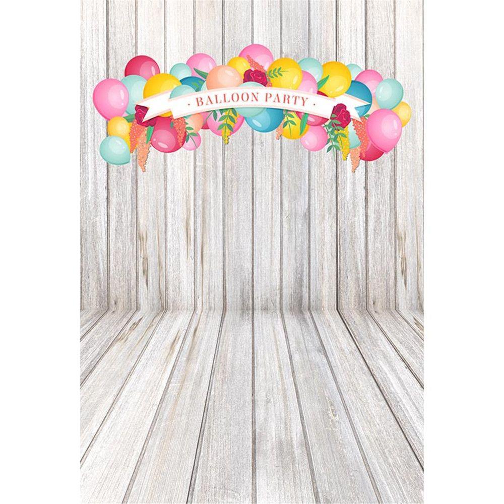ful balloons baby kids birthday party photography backdrops vinyl