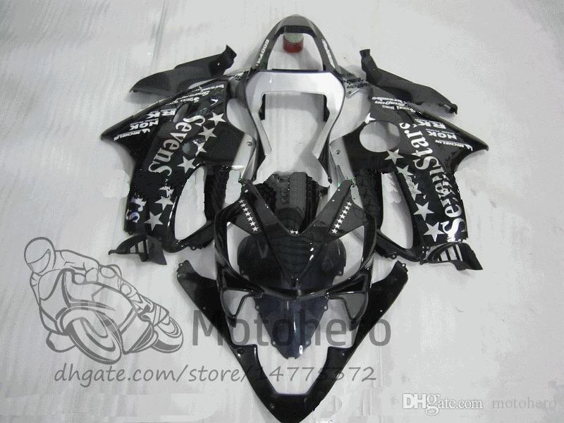 Прессформа впрыски подарки для Honda CBR600F4i 2001 2002 2003 CBR600 F4i ЦБ РФ 600 F4i 01-03 CBR600FS ФС черный R325d 01 02 03 600 F4i обтекатель