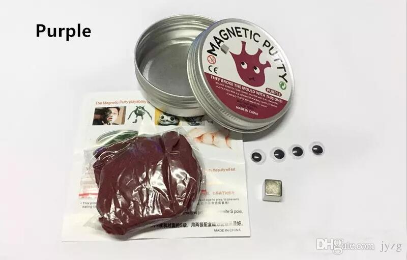 Brand Hand putty Pensamento DIY slime Playdough Lama de Borracha Magnética Forte plasticina Putty Viscose Argila Magnética Brinquedos Educativos Caçoa o Presente