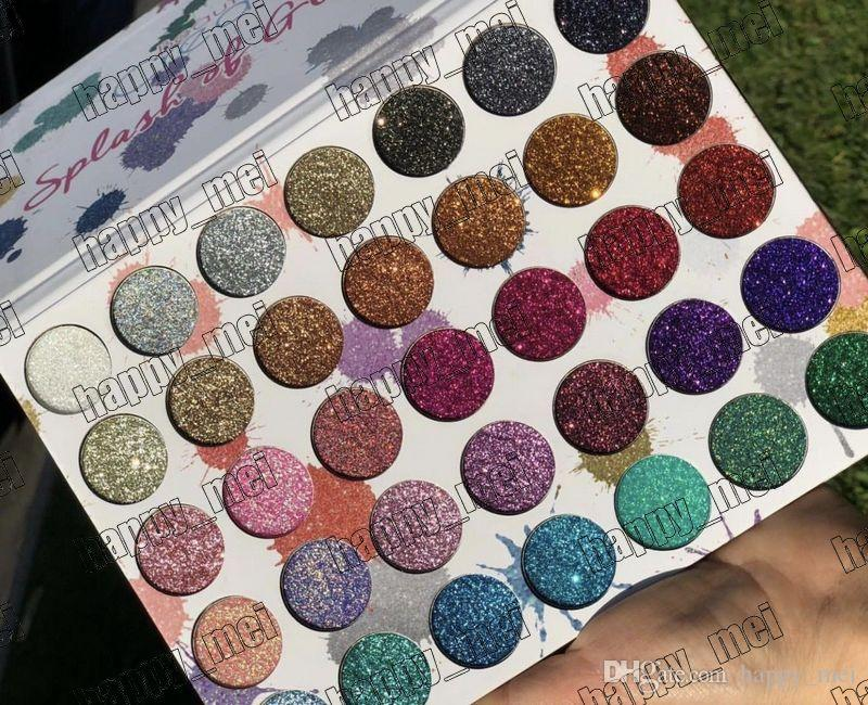 Factory Direct DHL Free Shipping New Makeup Eye Beauty Creations Splash Of Glitter 2 Eyeshadow Palette!