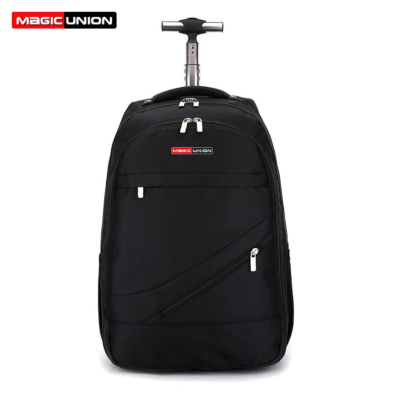 06f3664bc3dd MAGIC UNION Trolley School Bags Boy Backpacks Brand Design Teenagers Best  Students Travel Usb Charging Waterproof Schoolbag Y18100804 Latest Backpack  Cheap ...