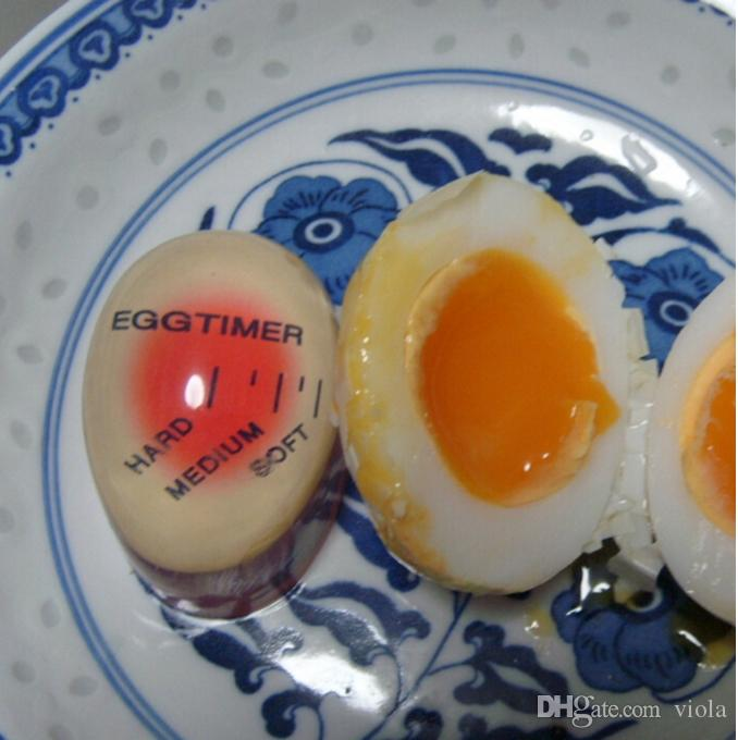 Egg Perfect Color Changing Timer Yummy Soft Hard Boiled Eggs Cooking Kitchen with DHL&Fedex