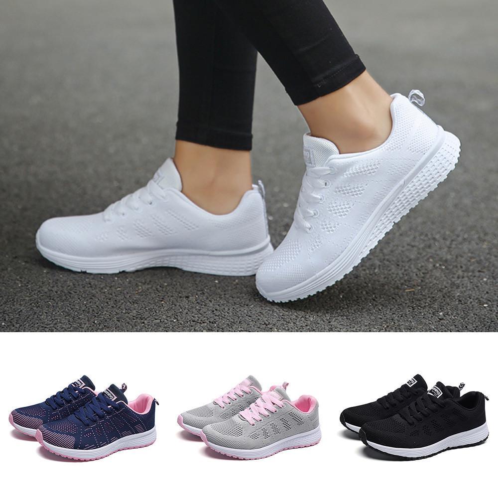 925cb126aa1 Compre 2019 Casual YOUYEDIAN Otoño Mujer Zapatos Zapatillas Mujer  Plataforma Zapatos Damas C Para Mujer Calzado Deportivo Corriendo      A   27.51 Del Cn99 ...