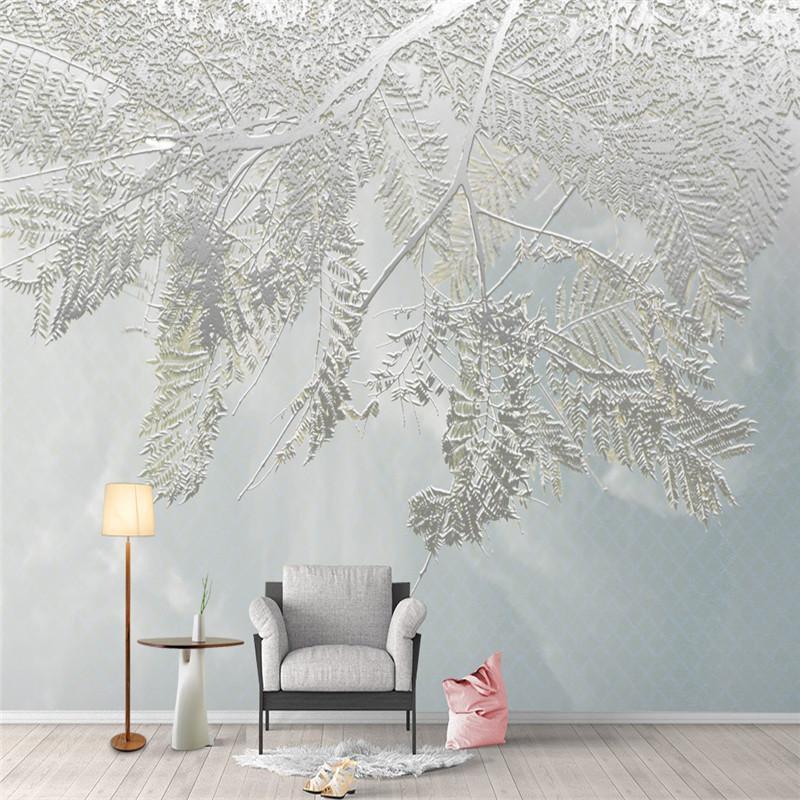 Großhandel Moderne 3D Wandbilder Tapeten Für Wohnzimmer Große Natur ...