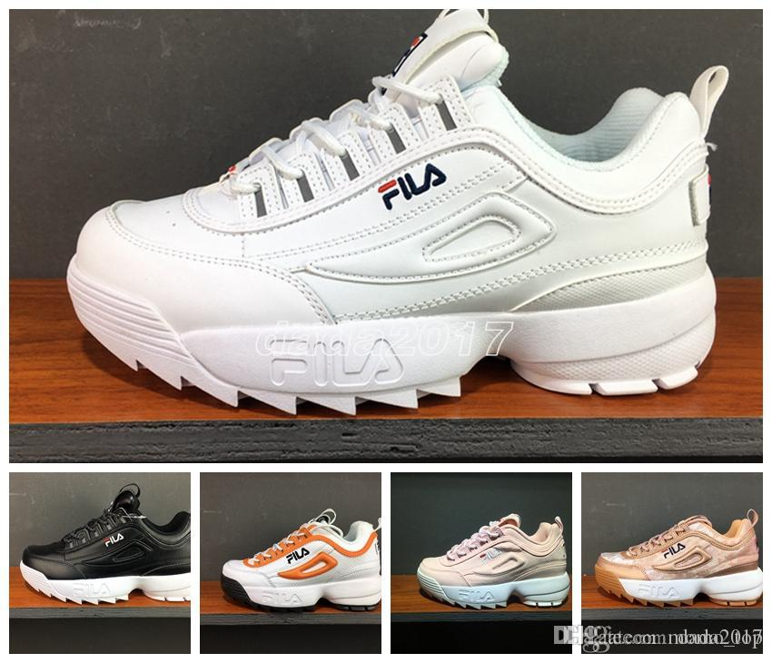 2018 Disruptors 2.0 X Raf Simons Mens Women Thick Soles White Sneaker Big  Sawtooth Ladies Thick Bottom Height Increasing Shoes Running Shoes  Wholesale Shoes ... 308b93e42cf7