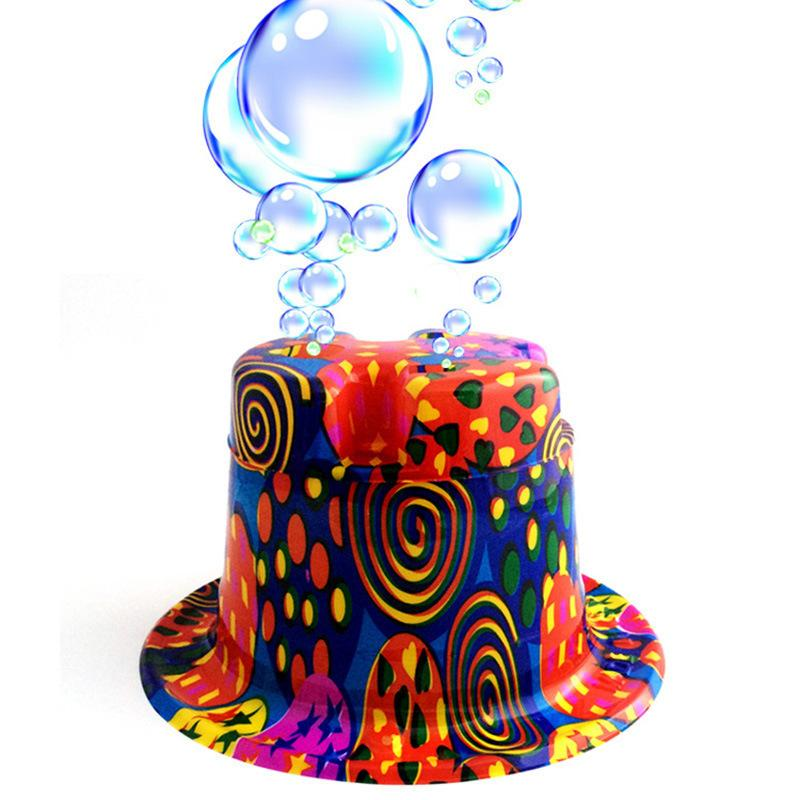 Minch Novelty Bubble Hat Bubble Gun Bubbles Machine Party Hat Bubble Maker  Hats Men And Women World Cup Russia 2018 Football Girl Birthday Hats Girl  In A ... 74e23b6bbba
