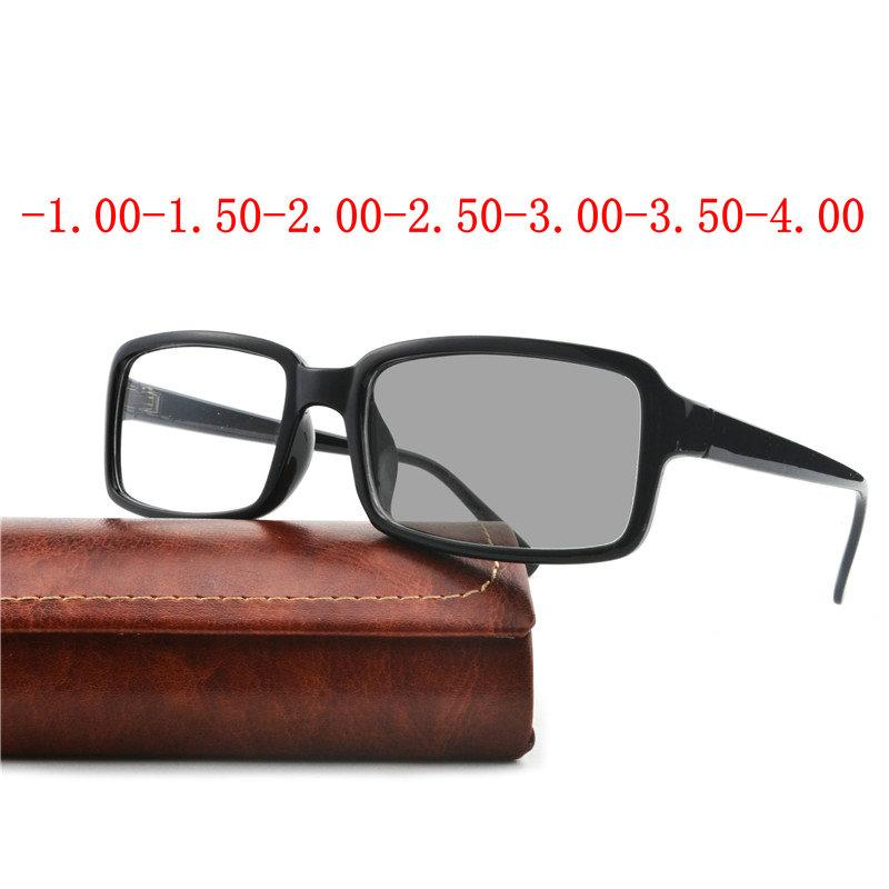 2edbdba8eb0 Myopia Sunglasses Finished Men Women Myopia Eyeglasses Frame Photochromic  Lens Sun Glasses Eyewear FML Eyewear Frames Cheap Eyewear Frames Myopia  Sunglasses ...