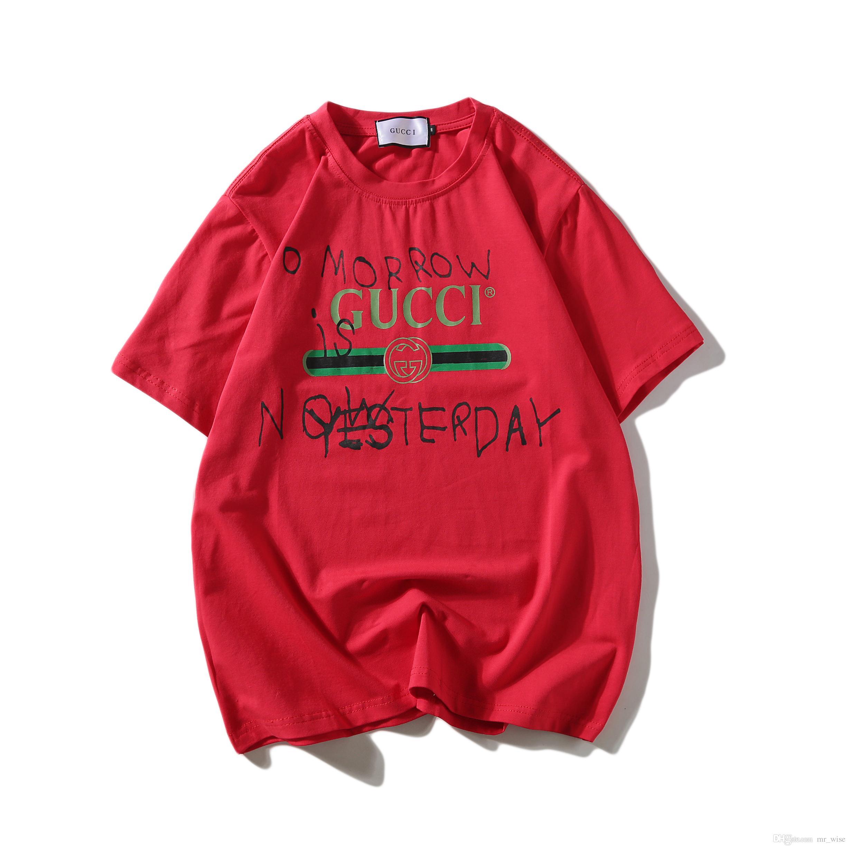 c9e17bdb2f 2018 Summer Mens Designer Captain T Shirts For Men Women Luxury Fashion  Italy Cotton T Shirt High Street Hip Pop T Shirt Streetwear Tee Shirt Deals  Online ...