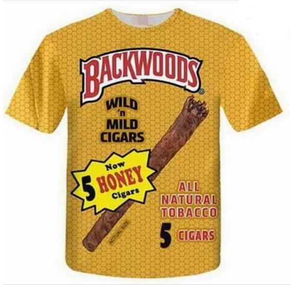 8500aaf17 ... New Fashion 3D T shirt Casual Backwoods Summer Style Men And Women