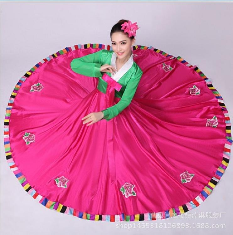 2019 The New 2017 Korean Adults Full Skirted Dress Costumes South