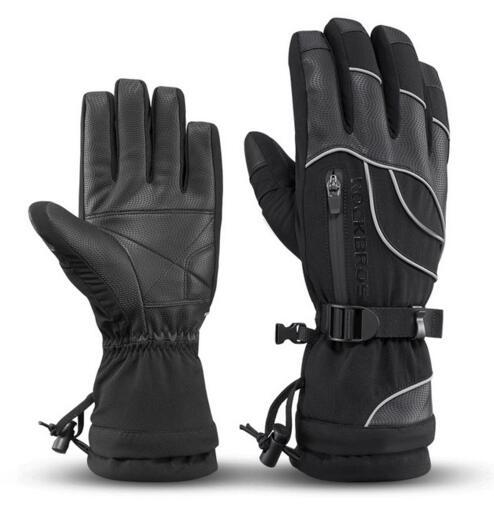 Winter Cycling Gloves Thermal Waterproof Windproof MTB Bike Gloves For Skiing Hiking Snowmobile Motorcycle